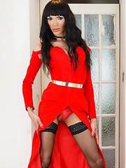 amateur,dress,solo,stockings